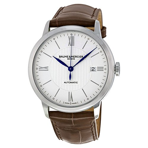 baume-mercier-mens-swiss-automatic-stainless-steel-and-leather-casual-watch-colorbrown-model-moa1021