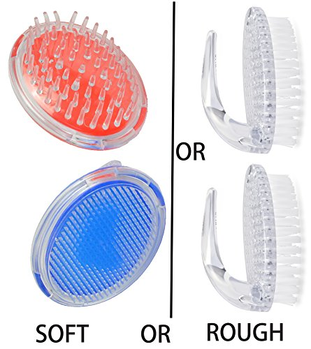Mabua Cleansing and Ingrown Hair Brush - 2 Pack