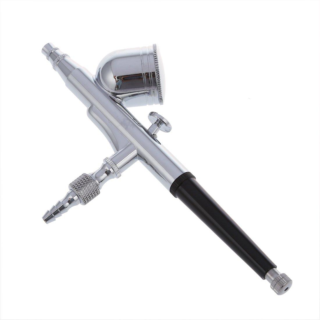 Kit de Pistola Aerografo Doble Acción 0.2mm de Pintura: Amazon.es: Bricolaje y herramientas