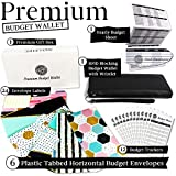 Slim Budget Envelopes Wallet - 6 Horizontal