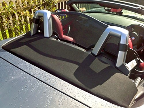 Just Roadster Wind Deflector to fit BMW Z4 E85 2002-2008 Mesh Black