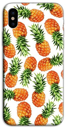 Mixroom - Cover Custodia Case In TPU Silicone Morbida Per Apple Iphone X M601 Ananas
