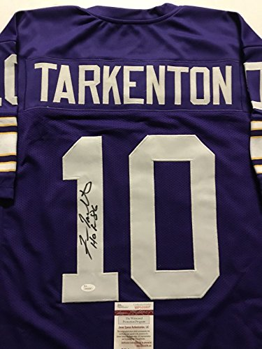 Minnesota Vikings Autographed Jersey, Vikings Signed Jersey