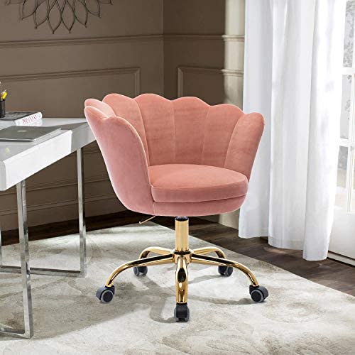 HomVent Velvet Leisure Chair
