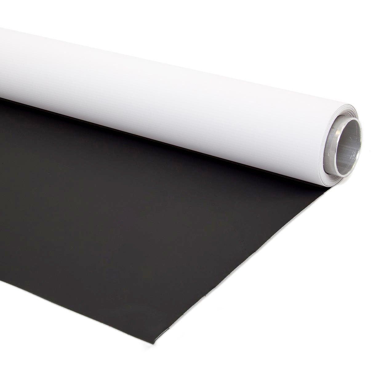 2m X 4m Doble Cara Blanco y Negro Fondo Fotográfico Vinilo con Soporte