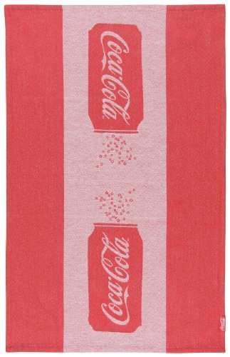Coca- Cola Presented by Now Designs Dishtowel, Classic Can Jacquard by Now Designs