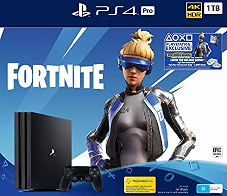 PlayStation 4 Pro 1TB Console Fortnite Neo Versa Bundle +