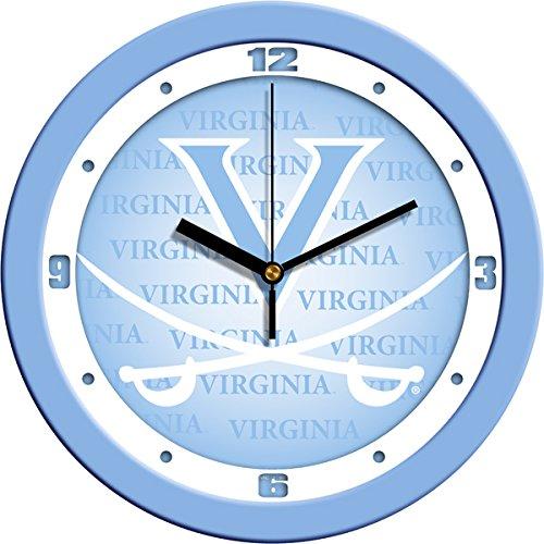 - SunTime NCAA Virginia Cavaliers Wall Clock - Baby Blue