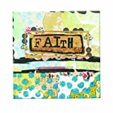 Kelly Rae Roberts Faith Blue Wall Art, 6 Square Inch