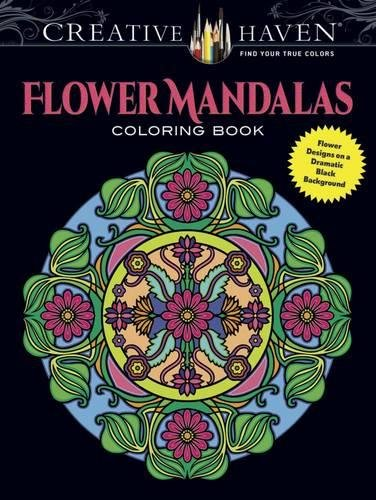 Creative Haven Flower Mandalas Coloring product image