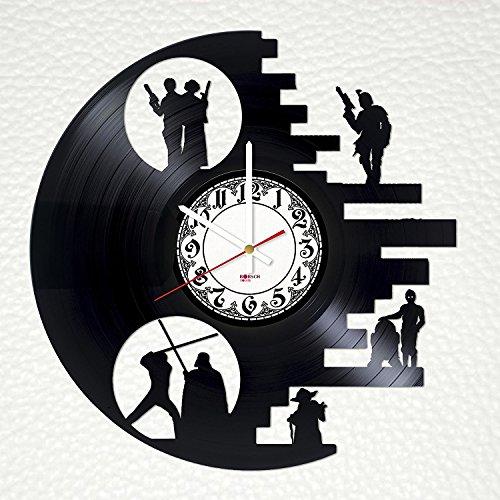 Wall Clock Art Design : Star wars clocks