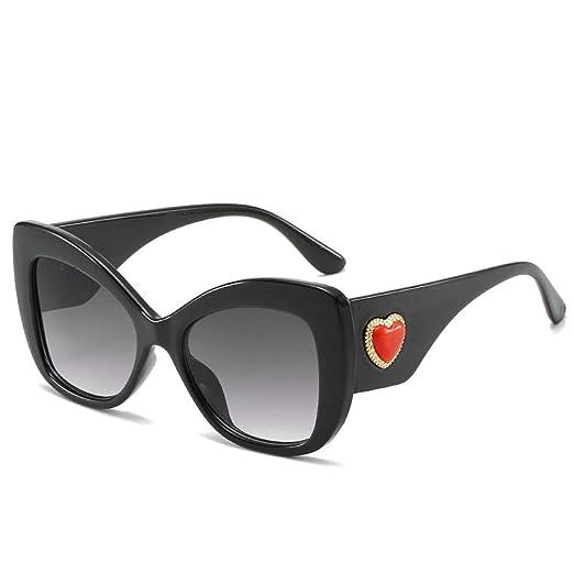 Yangjing-hl Nueva Caja de Gafas de Sol Tendencia Gafas de Sol Moda ...