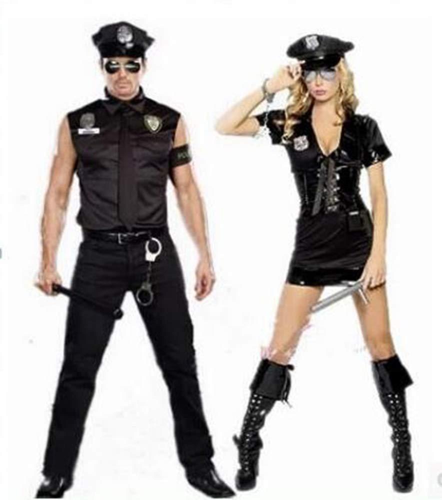 XSQR Hombres Y Mujeres Uniforme De Policia Uniforme De ...