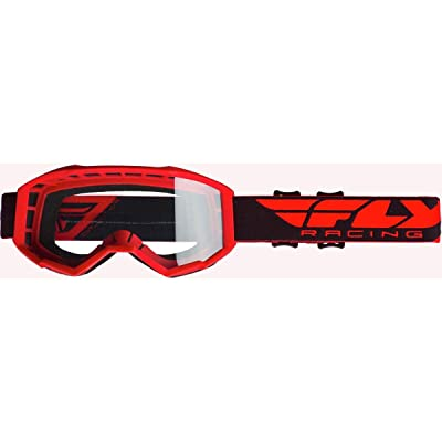 Fly Racing 2020 Focus Goggles (RED): Automotive