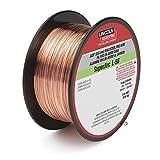 Lincoln Electric SuperArc L-56 Premium Copper-Coated MIG Welding WIre – 2-Lb. Spool, 0.025in. Dia., Model# ED030583