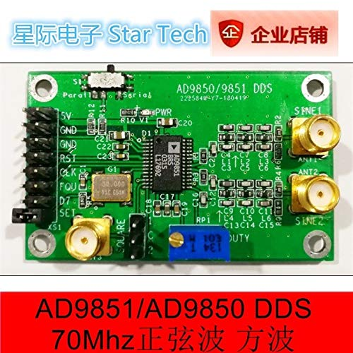 Lysee AD9851 AD9850 module DDS function signal-generator module waveform generator STM32 - (Color: AD9851)