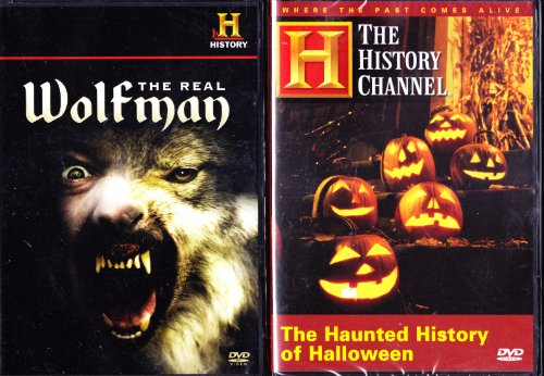 The History Channel : The Haunted History of Halloween , the Real Wolfman : Spooky 2 Pack -