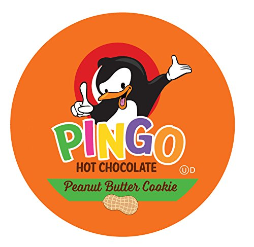 Butter Cocoa Peanut - Pingo Single-Cup Hot Cocoa for Keurig K-Cup Brewers, Peanut Butter Cookie, 40 Count