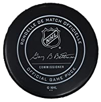 Eric Lindros Philadelphia Flyers Official Retirement Game Puck