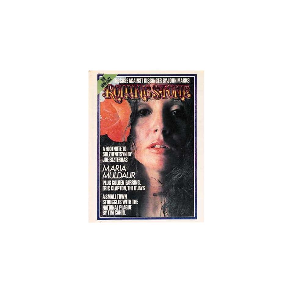 Rolling Stone Magazine # 166 August 1 1974 Maria Muldaur (Single Back Issue)
