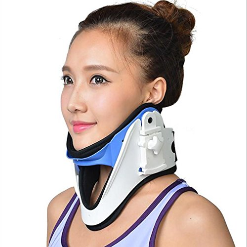 LPY-Medical Cervical Vertebra Tractor Traction Support Brace Treatment For Neck Pain Spondylosis Men Women Adult by Nursing supplies