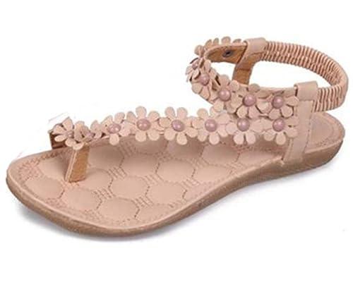 Ularma 2016 Moda Bohemia verano dulce dulce de la mujer moldeado zapatos  sandalias Clip pies sandalias 68d87e493583