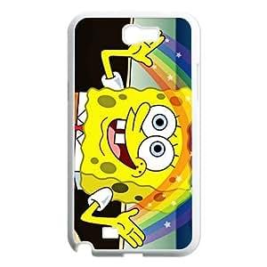 Custom SpongeBob Hard Back For Case Samsung Galaxy S4 I9500 Cover NT887