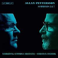 Pettersson: Symphonies Nos 5 & 7 [Norrköping Symphony Orchestra; Christian Lindberg] [Bis: BIS2240]