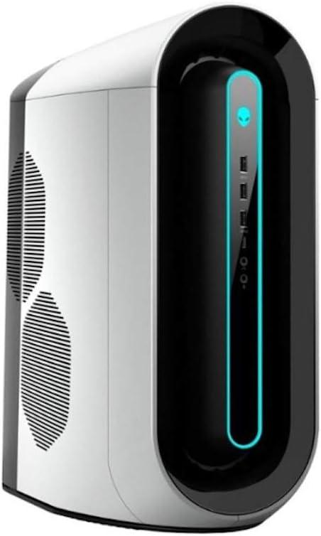 Alienware Aurora R9 (AWAUR9-7643WHT-PUS) Intel Core i7-9700 - 16GB Memory - NVIDIA GeForce RTX 2070-1TB HDD + 256GB SSD - White/Lunar Light