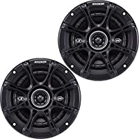 Kicker 41DSC654 6.5 2-Way Speaker Pair