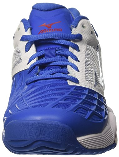 Wave strongblue Uomo Ac white Multicolore Da chinesered Tour Scarpe Tennis Mizuno Intense vdq0vf
