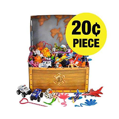 Treasure Chest Prize Kit (252Pc/Un) by Bargain World