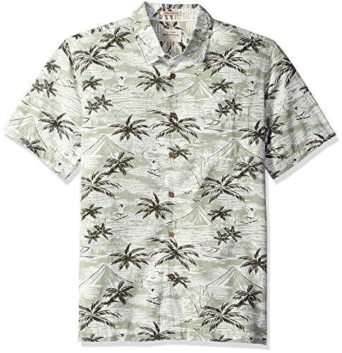 Quiksilver Men's Sumo Surfers Shirt, reseda, L