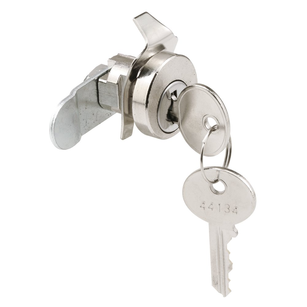 Pack of 1 Cam 1-1//4 in Defender Security S 4303 Mail Box Lock with Dust Cover Nickel Steel /& Diecast Components