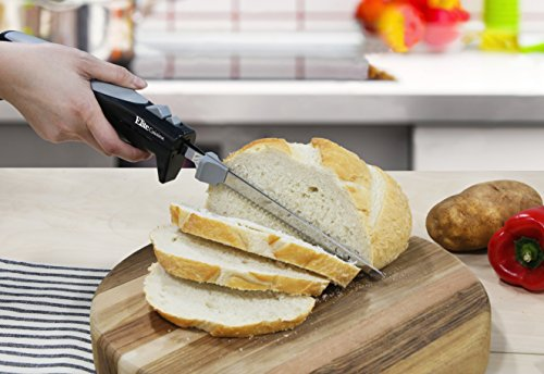 Elite Cuisine EK-570B Maxi-Matic Electric Knife with 2 Serrated Blades and Easy Eject, Black (Stainless Steel) by Maxi-Matic (Image #4)