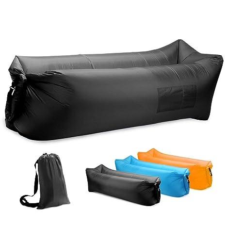 Amazon.com: BT - Sofá hinchable de aire, hamaca, portátil ...