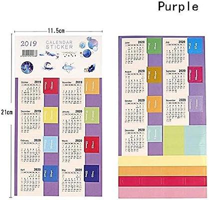 Calendarios de Pared Calendarios de Escritorio Año Nuevo 2020 ...