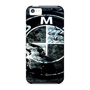 Slim Fit Tpu Protector Shock Absorbent Bumper Carbon Embleme Bmw Case For Iphone 5c