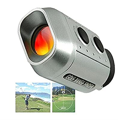 CSG Digital 7 x Golf Range Finder Golf Scope Padded Case In Yards Distance