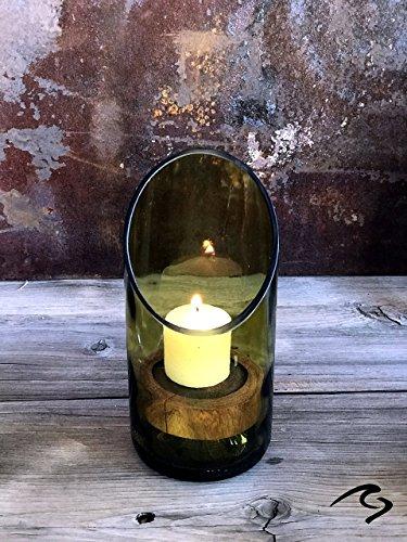 Lounge Wine Bottle Art Candle Holder ()