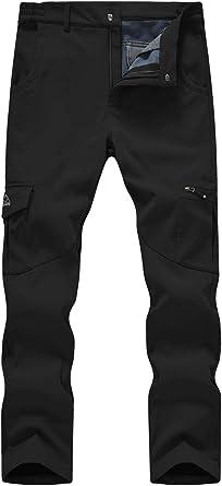 Winter Men/'s Denim Waterproof Ski Pants Outdoor Sports Snowboard Windproof Pants