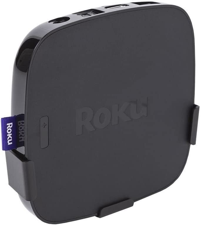 HIDEit R5 | Wall Mount for 5th Gen Roku Devices Roku Ultra & Premiere + | Made in The USA
