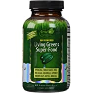Irwin Naturals Living Greens Super-Food Supplement, 60 Count