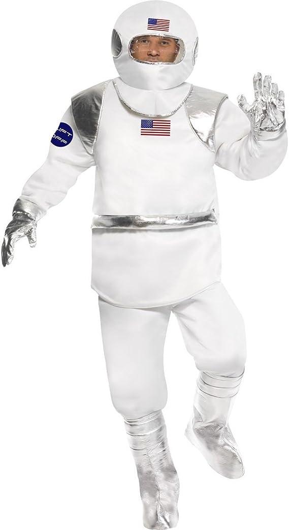 NET TOYS Traje de Astronauta Disfraz cosmonauta Espacio: Amazon.es ...