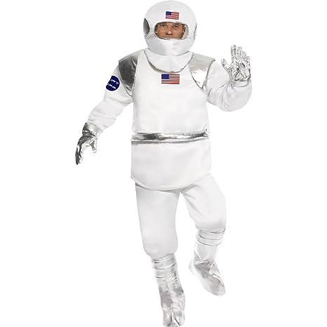NET TOYS Traje de Astronauta Disfraz cosmonauta Espacio ...