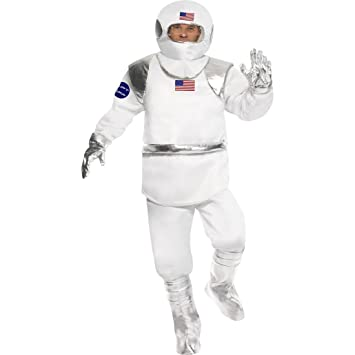 Traje de astronauta disfraz cosmonauta espacio: Amazon.es ...