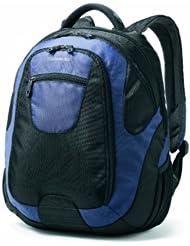(31折)Samsonite 新秀丽 美国产 多功能 双肩 旅行电脑背包 黑/蓝色 $37.51