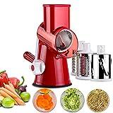 Best Vegetable Slicers - Vegetable Mandoline Chopper,Upintek 3-Blades Manual Vegetable Slicer,Efficient Review