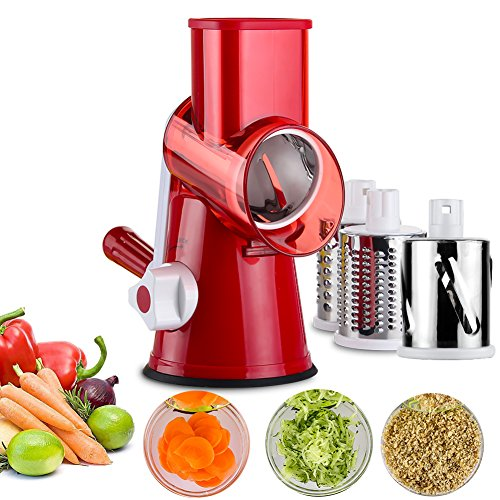 Upintek 3-Blades Manual Vegetable Slicer