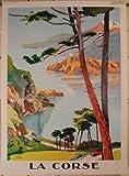 La Corse - Peri - 50X70 Cm Affiche / Poster